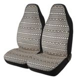 AutoTrends Metallic Aztec Seat Cover, 2-pk