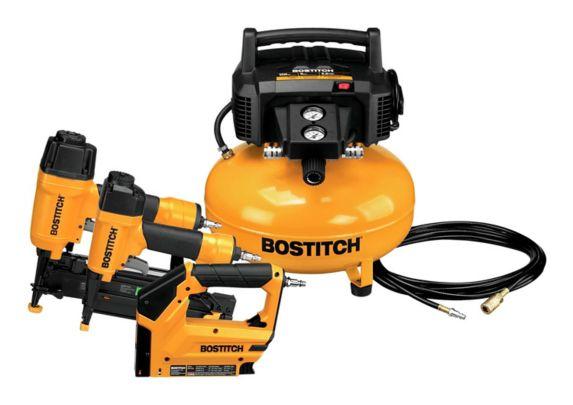 Ensemble de 3 outils et compresseur Bostitch