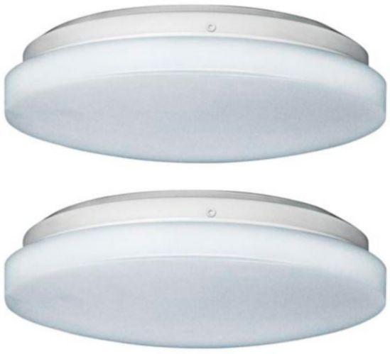 LED White Flush Mount Light, 10-in, 2-pk Product image