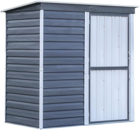 Arrow Galvanized Steel Shed-In-A-Box, 6-ft x 4-ft Product image