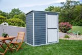 Arrow Galvanized Steel Shed-In-A-Box, 6-ft x 4-ft   Arrownull
