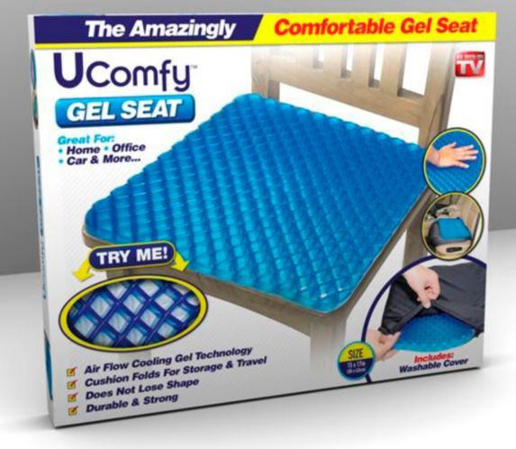 As Seen On TV Bell & Howell UComfy Gel Seat