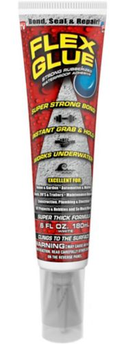 As Seen On TV Flex Glue Strong Rubberized Waterproof Glue, 6-oz Product image
