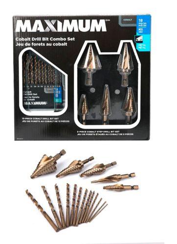 MAXIMUM Cobalt Drill Bit Combo Set, 18-pc Product image