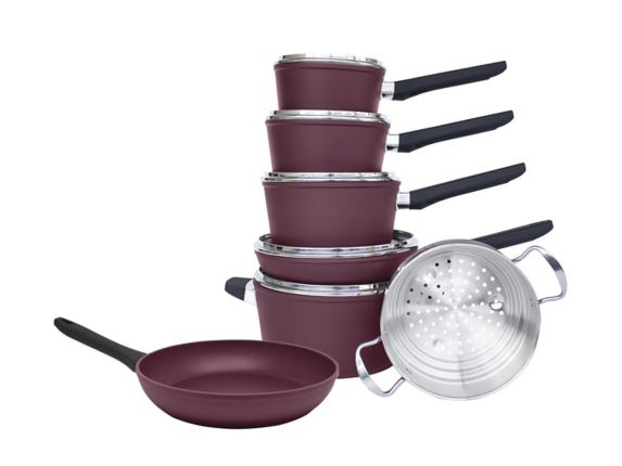 PADERNO Classic Non-Stick Cookset with Frying Pan