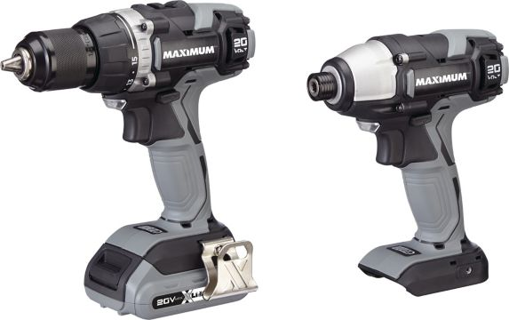 MAXIMUM 20V 1/2-in Drill Driver & 1/4-in Impact Driver Combo Kit Product image