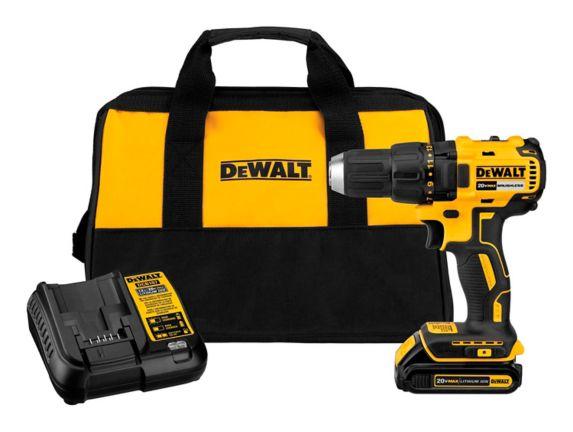 DEWALT DCD777C1 20V MAX 1/2-in Brushless Drill/Driver Kit, 1.3Ah Product image