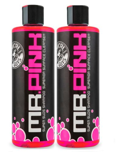 Chemical Guys Mr Pink Super Suds Superior Surface Cleanser Car Wash Shampoo, 473-mL, 2-pk Product image