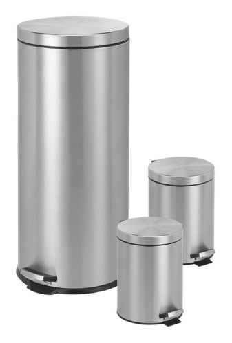 Stainless Steel Step Can Set, 3-pc Product image