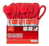 Globe Designer Extension Cord, Red, 9-ft | Globenull