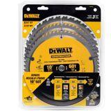 Lames de scie circulaire DEWALT DW3106P5B3C, 10 po, paq. 3   DEWALTnull