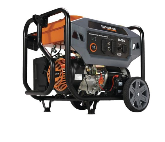 Generac 7500W/9400W Open Frame Generator with Electric Start Product image