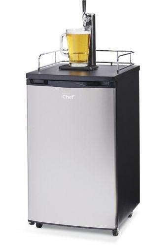 Réfrigérateur à bière MASTER Chef Kegerator