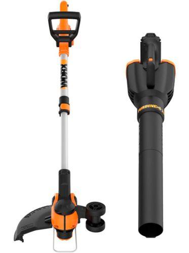 WORX 20V Cordless Grass Trimmer/Edger & Leaf Blower Combo Kit