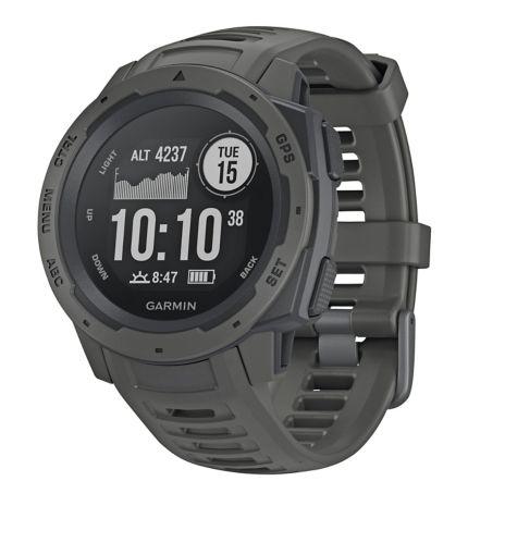 Garmin Instinct GPS Watch, Graphite