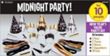 New Year's Eve Midnight Party Kit | Amscannull