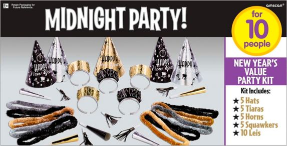 New Year's Eve Midnight Party Kit