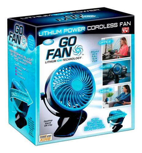 As Seen On TV Cordless Go Fan