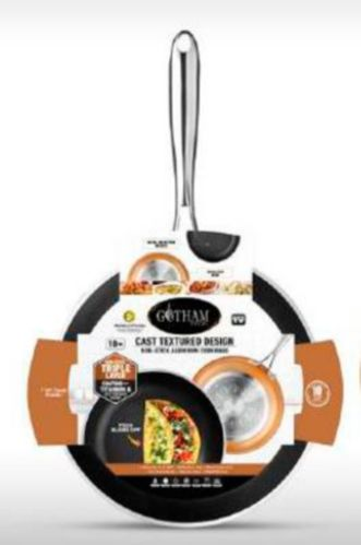 As Seen On TV Gotham Steel Non-Stick Cast Textured Frypan, 10-in Product image