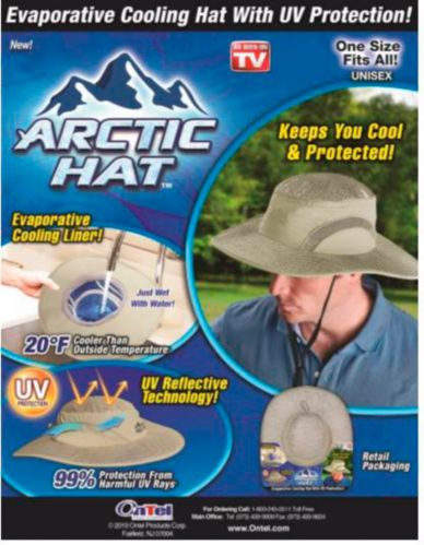 As Seen On TV Arctic Safari Hat