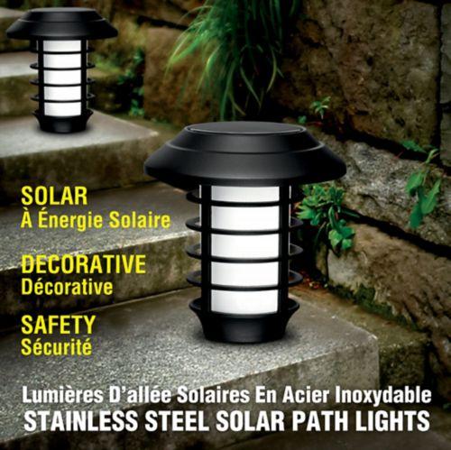 As Seen On TV Bell & Howell Solar Path Lights, 4-pk