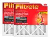 3M™ Filtrete™ Allergen Defense Micro Allergen Filter, MPR 1000, 20-in x 20-in x 1-in, 2-pk | Filtretenull