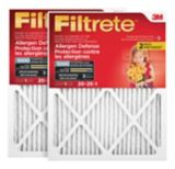 3M™ Filtrete™ Allergen Defense Micro Allergen Filter, MPR 1000, 20-in x 25-in x 1-in, 2-pk | Filtretenull