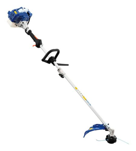 Badger 26cc Straight Shaft 2-in-1 Gas Grass Trimmer & Brush Cutter, 17-in