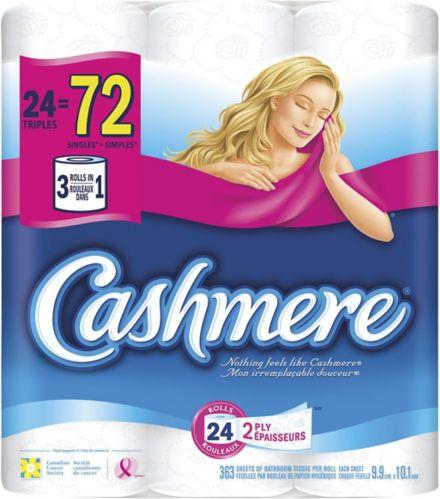 Cashmere Double Roll Bathroom Tissue, 24-pk