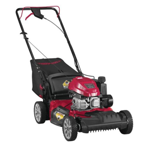 Troy-Bilt 149cc Self-Propelled Vertical Storage Lawn Mower, 21-in Product image