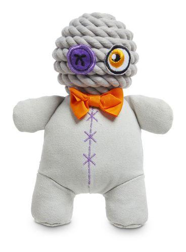 Petco Halloween Plush Rope Voodoo Dog Toy, 9-in