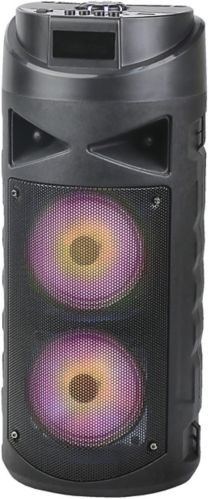 Sylvania Bluetooth LED Light Party Speaker