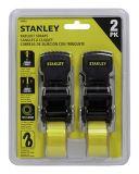 Stanley Ratchet Tie Down Straps, 2-pk | Stanleynull