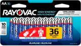 Piles alcalines AA Rayovac HIGH ENERGY, paq. 36 | Rayovacnull