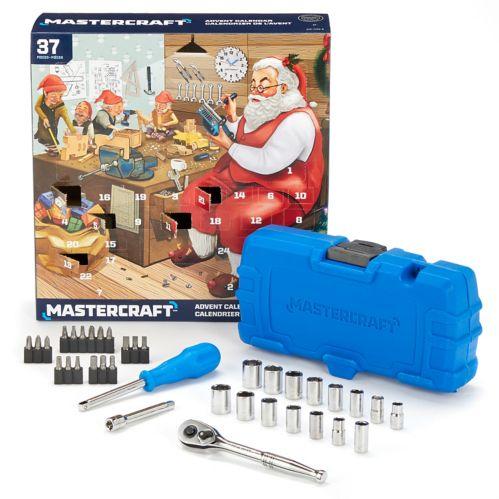 Ensemble d'outils calendrier de l'avent Mastercraft
