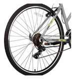 Vélo hybride Diadora Siena, petit, gris, 700C | DIADORAnull