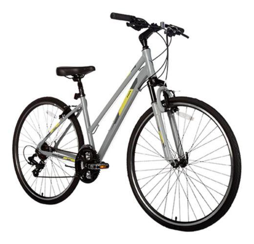 Vélo hybride Diadora Siena, petit, gris, 700C