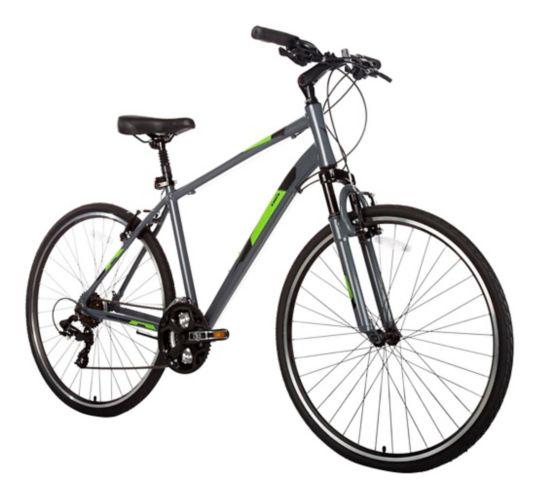 Vélo hybride Diadora Arezzo pour hommes, très grand, gris, 700C