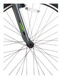 Vélo hybride Diadora Arezzo pour hommes, très grand, gris, 700C | DIADORAnull
