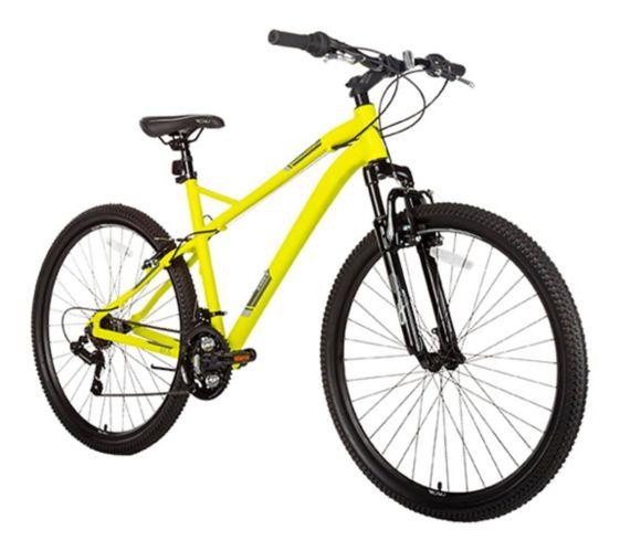 Vélo de montagne à suspension avant Diadora Novara Hardtail 650B, grand, jaune