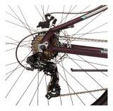 Vélo de montagne à suspension avant Diadora Paradiso Hardtail 650B, petit, bourgogne | DIADORAnull