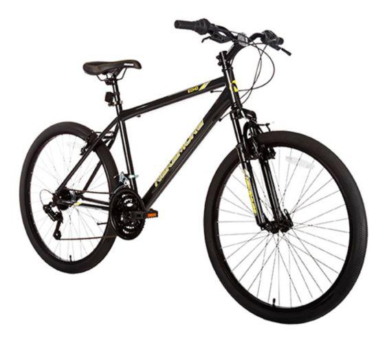 Nakamura Ecko 2 Medium Hardtail Mountain Bike, Black, 26-in