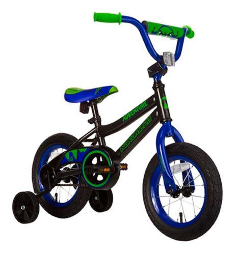 Nakamura Adventure Kid's Bike, Black, 12-in