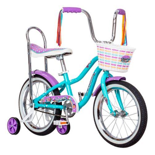 Schwinn Coronet Kid's Bike, Teal, 16-in