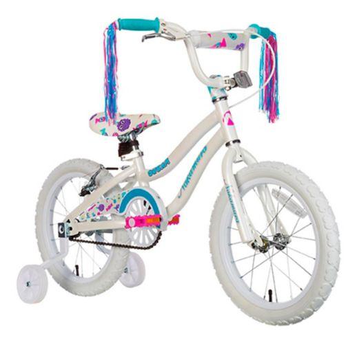 Vélo pour enfant Nakamura Dream, blanc, 16 po