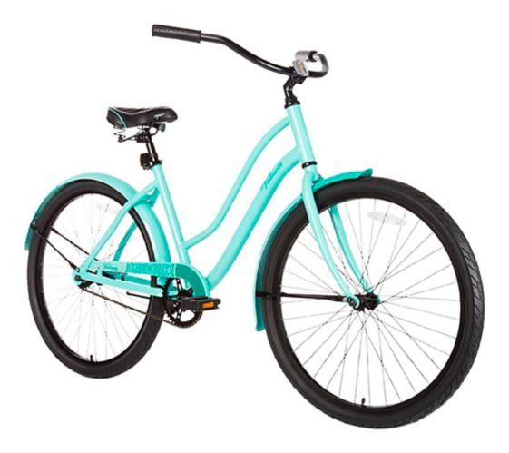 Vélo de promenade confortable Capix Valencia, bleu