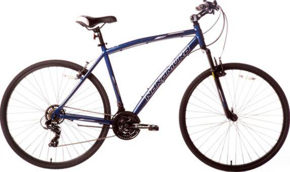 Vélo hybride Nakamura Royal, hommes, grand, bleu foncé