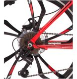 Vélo de montagne à suspension avant Mongoose Singe Hardtail, rouge, 24 po | Mongoosenull