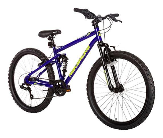 Nakamura Monster 2 Hardtail Mountain Bike, Blue, 24-in
