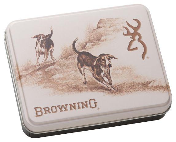 Browning Knife & Dog Tin Set